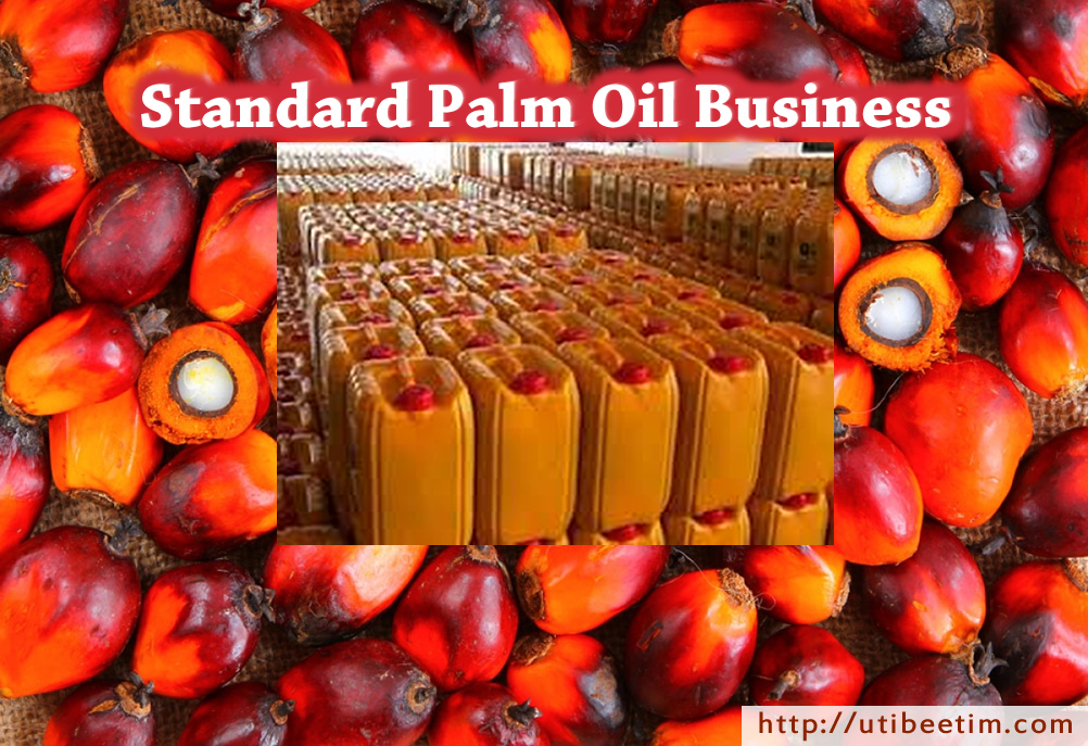 Standard/Bankable Palm Oil Business Plan With 3-Years Financial Analysis