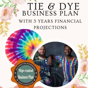 Tie and Dye Business plan